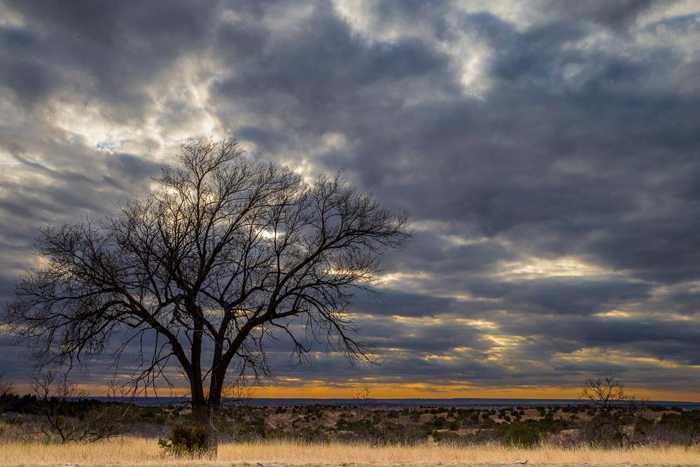 Dunkle Wolken über Texas