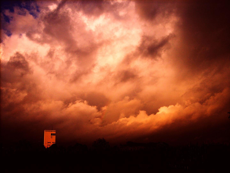 Dunkle Wolken über´m Pütt