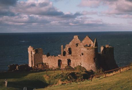 Dunluce Castle...