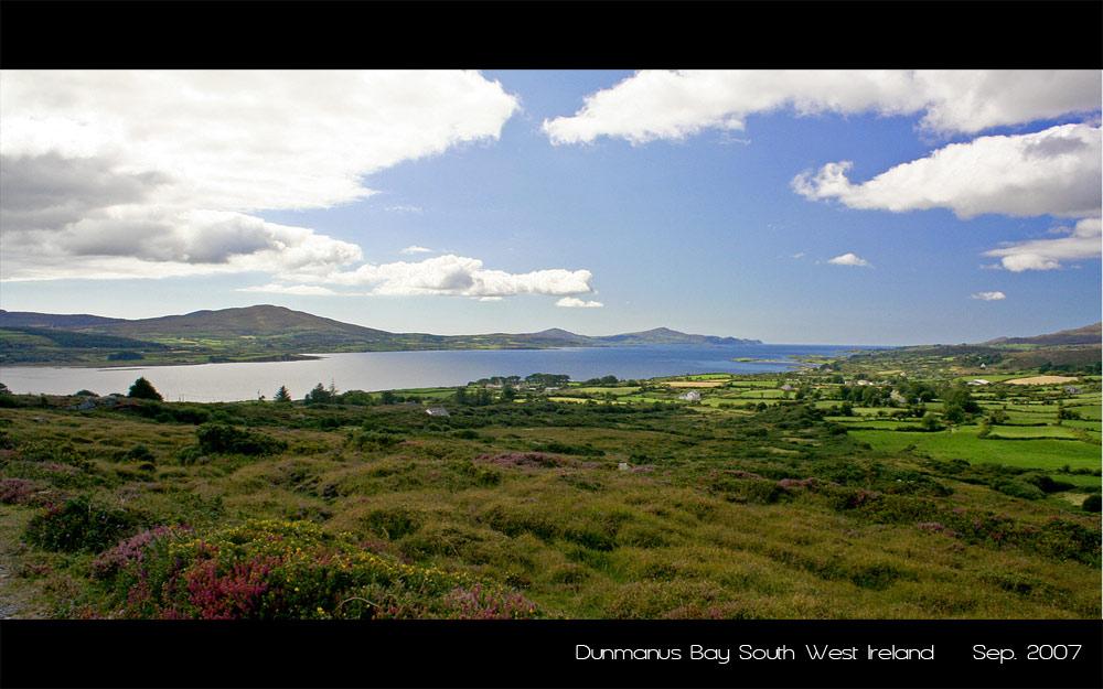 Dunmanus Bay bei Durrus/ Bantry County Cork