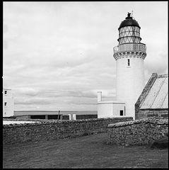 Dunnet head lighthouse (August 1974)