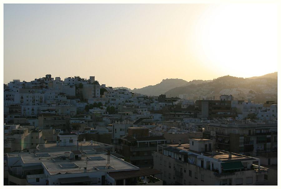 Dunst und Dämmer in Andalusien