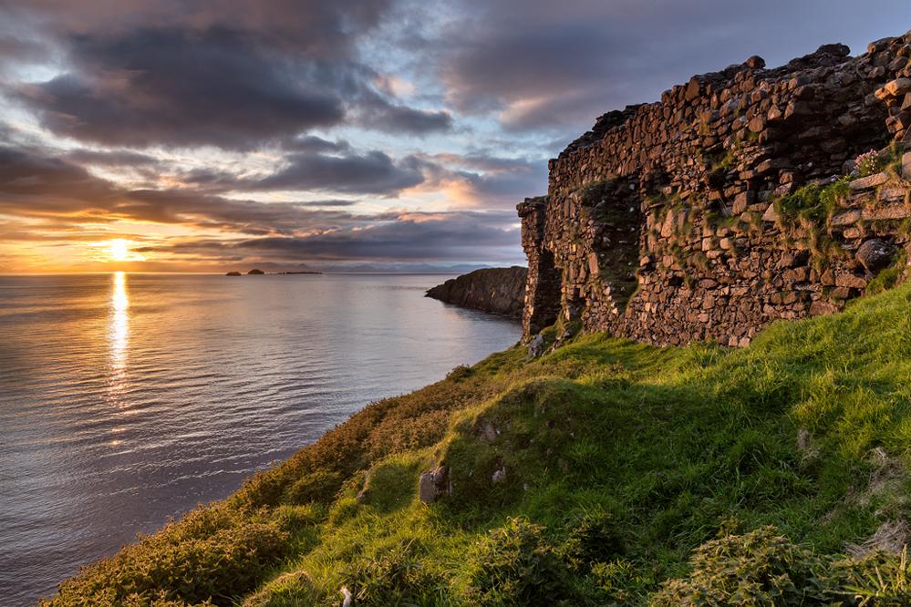 Duntulm Castle Sunset