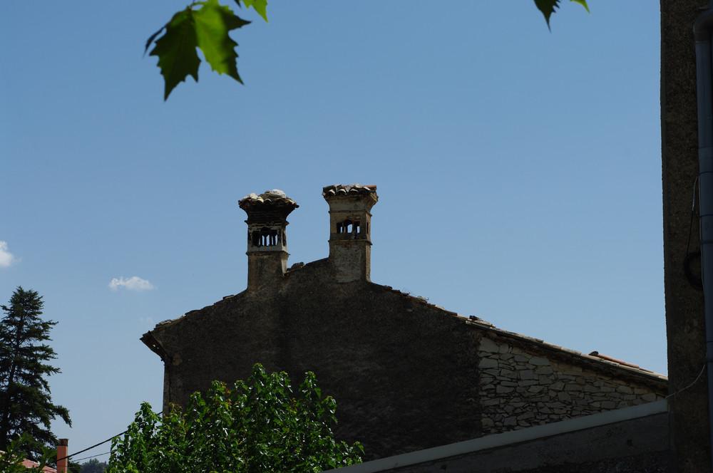 duo de cheminées