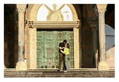 Duomo di Amalfi con bacio