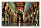 Duomo di Messina: la navata centrale
