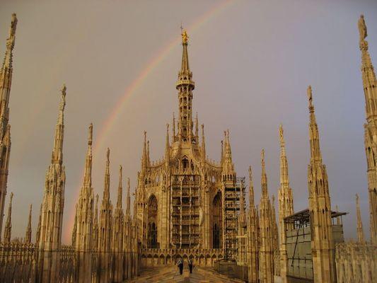 Duomo di Milano - Nach dem Gewitter...