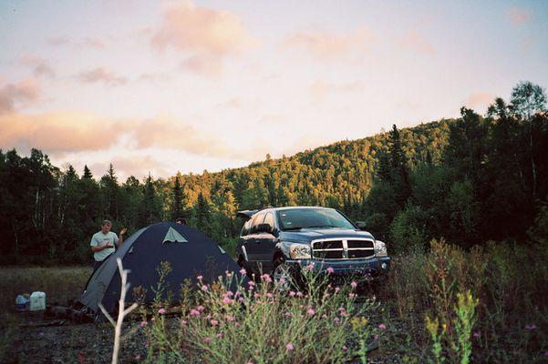 Durango im Sonnenuntergang