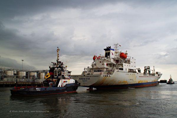 Durban Star in Cuxhaven