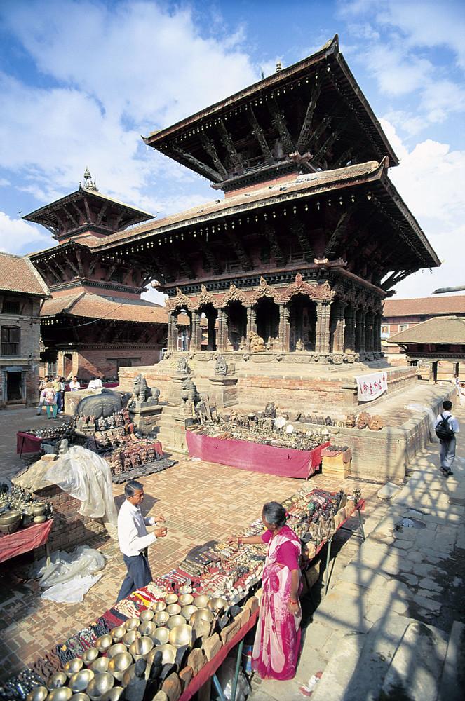 Durbar Square in Patan/Kathmandu