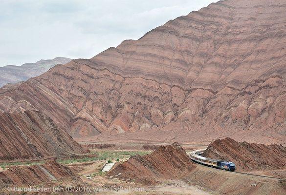 Durch das Elburz-Gebirge des Iran