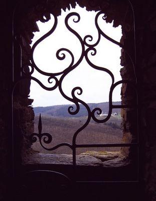 Durch das Fenster...