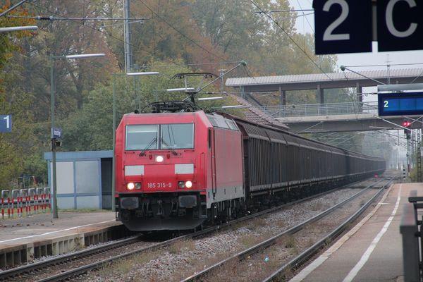 Durch den Schwarzwald mit dem Güterzug