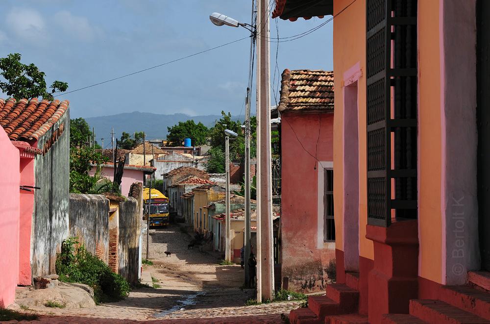 Durch die Gassen Trinidads ...