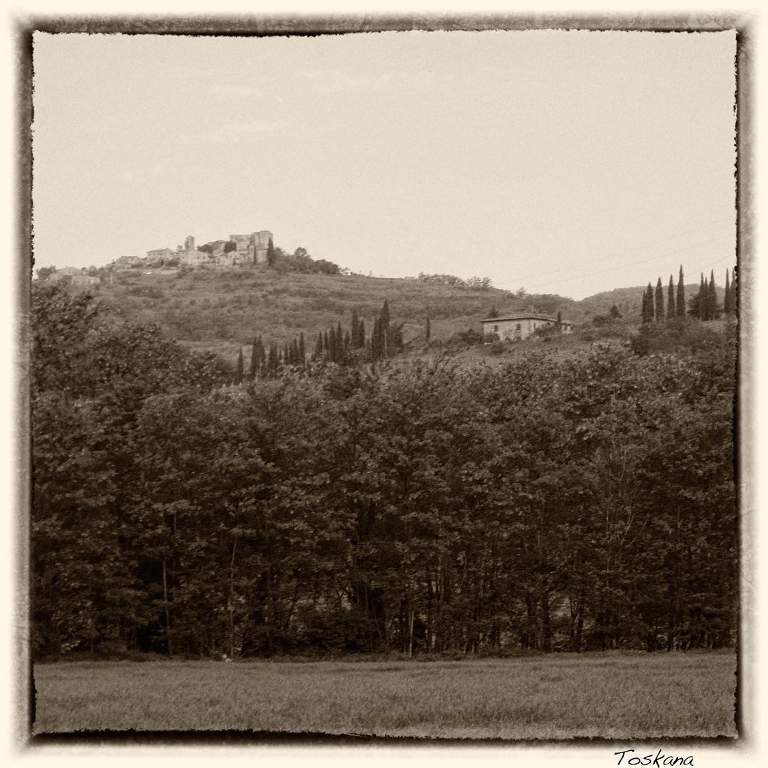 Durch die Toskana