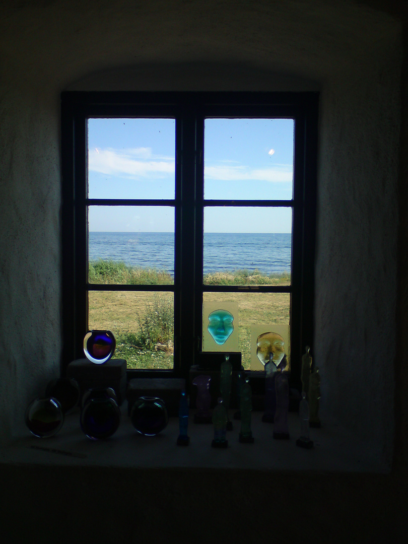 Durch ein Fenster in Südlichen Schonen, Die Ostsee