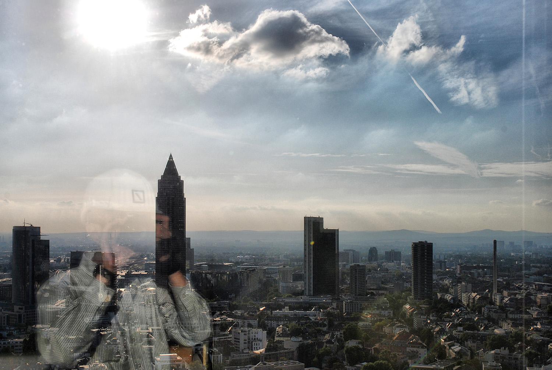 durch Fenster der deutsche bank