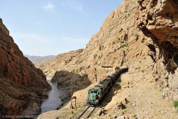 Durch Irans Gebirge
