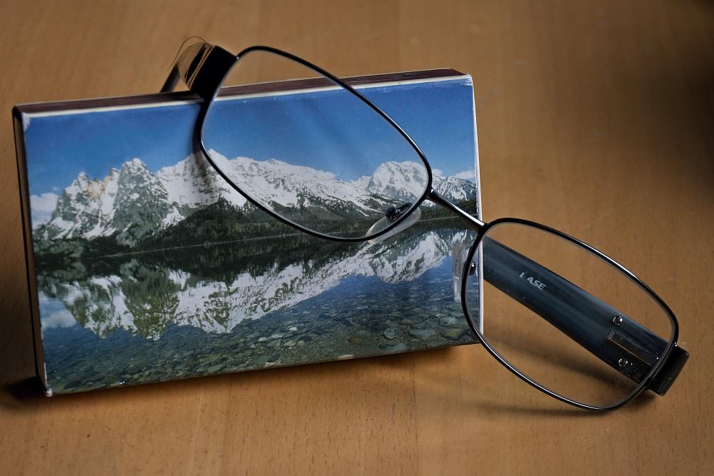 durch meine Brille gesehen