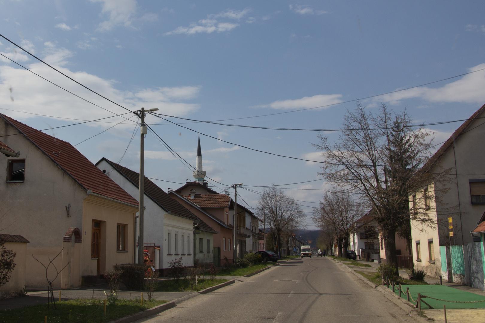 Durch serbisches Gebiet