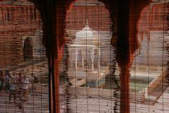 Durchblick Innenhof Palast India