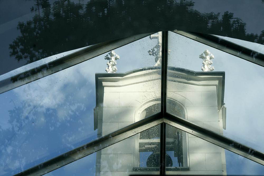 Durchblick und Spiegelung