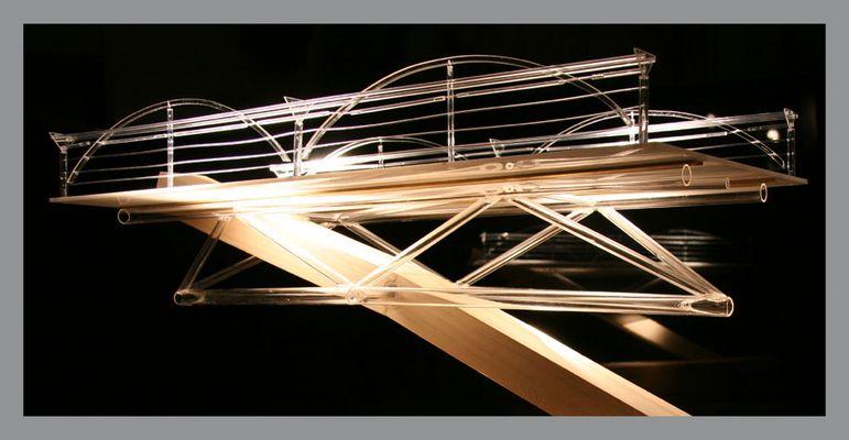 Durchdringungspunkt meiner Bogenbrücke