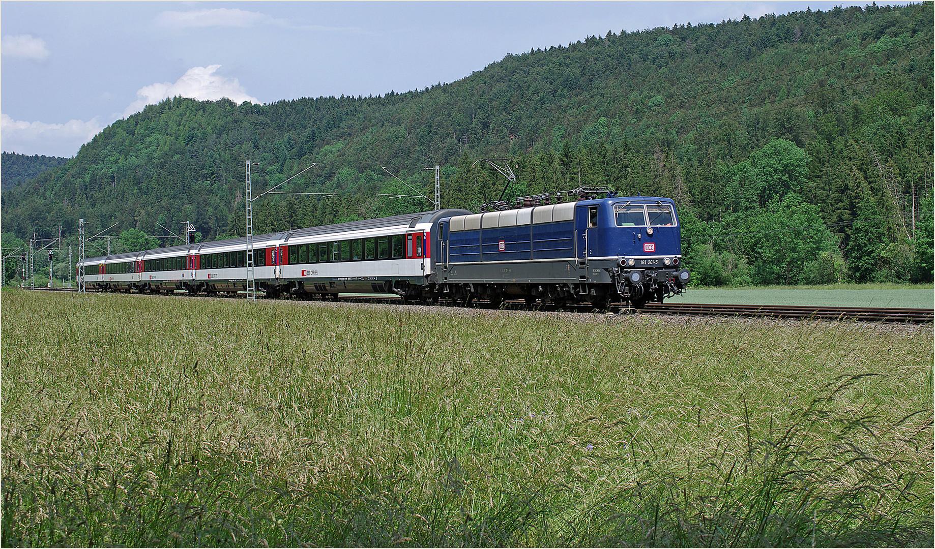 Durchfahrt Betriebsbahnhof Grünholz
