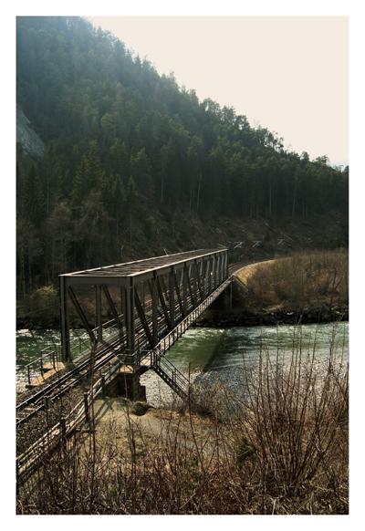 Durchfahrt Rhätische Bahn (GR)