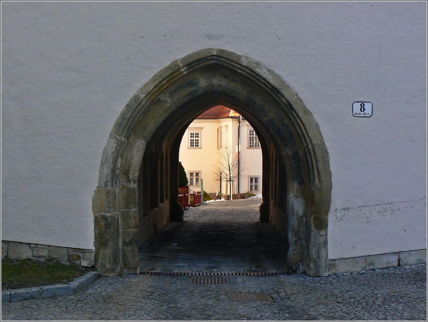 DURCHGANG - STIFT KLOSTERNEUBURG