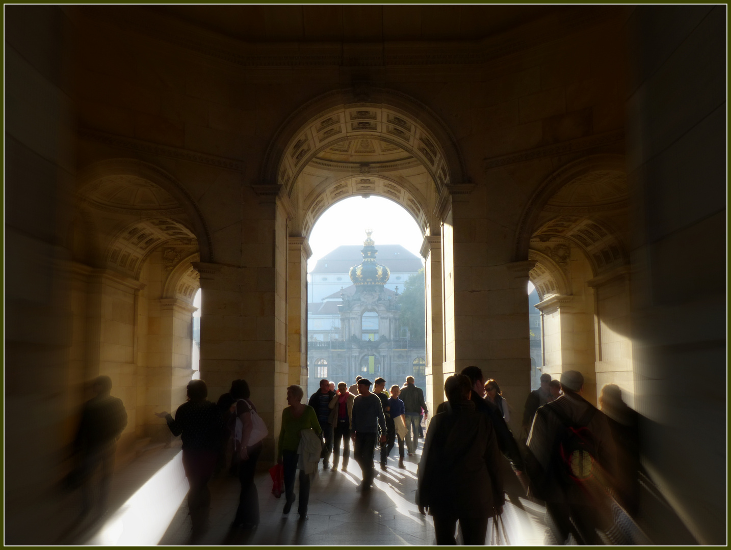 Durchgang zum Zwinger, Dresden