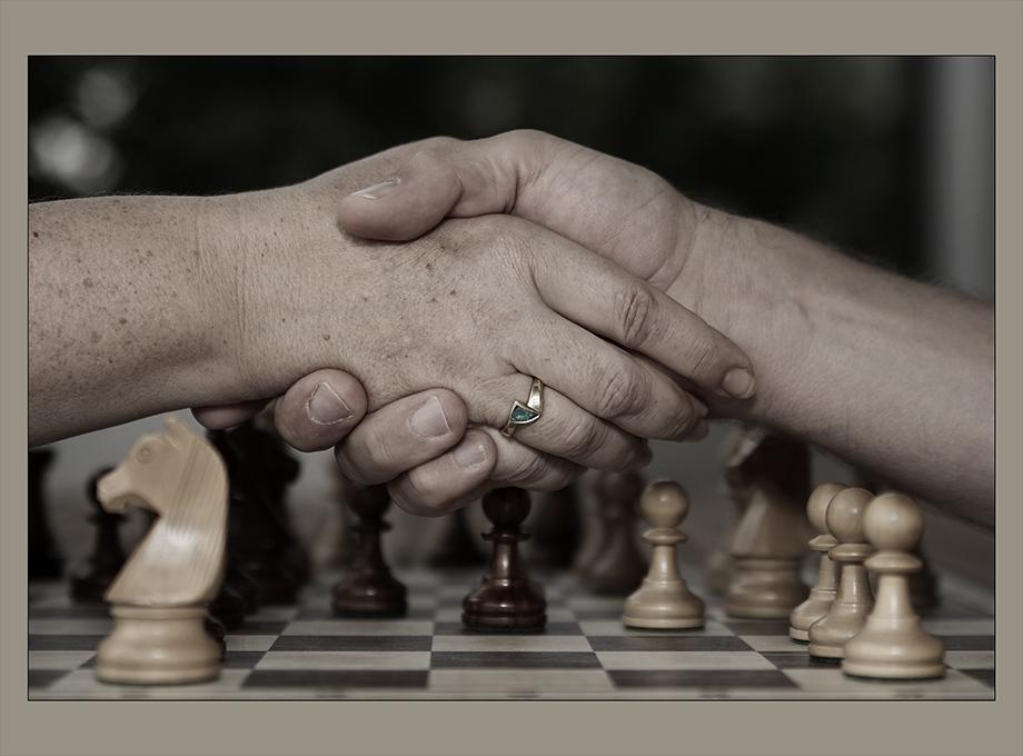 Durch's Schachspiel kennengelernt ..
