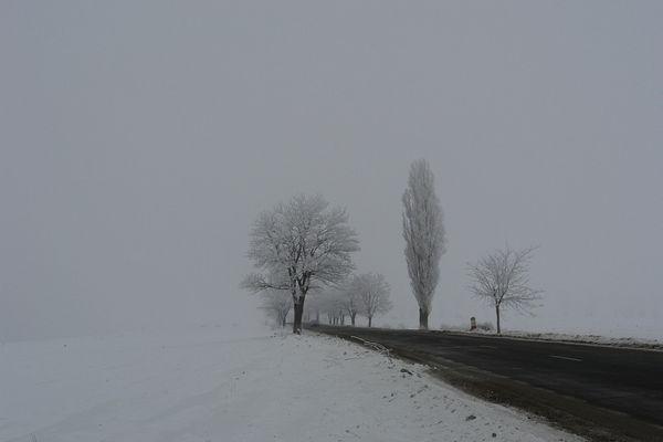 Duro invierno en Romania