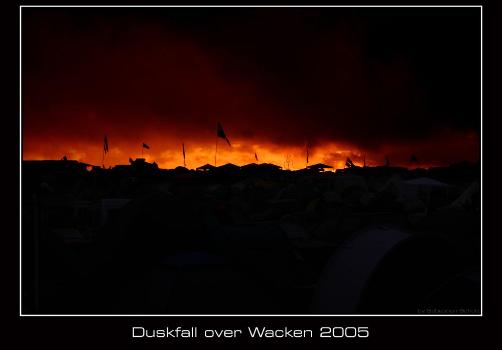 Duskfall over Wacken 2005