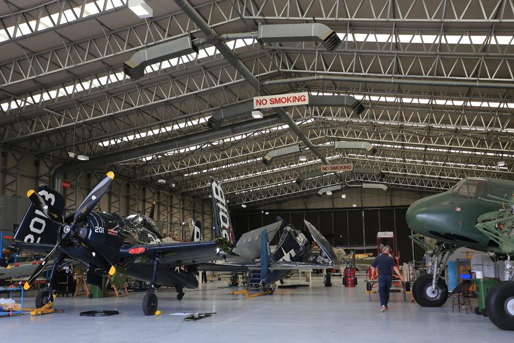 Duxford Hangar
