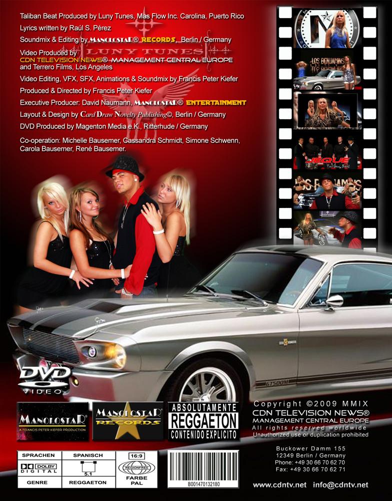 DVD-Cover von Los Benjamins Back
