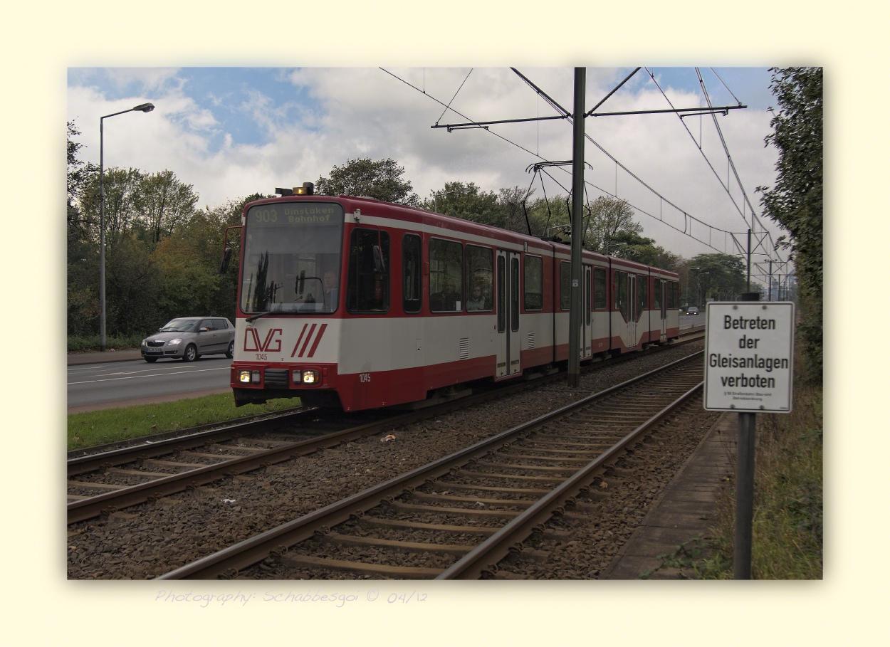 DVG Linie 903 nach Dinslaken