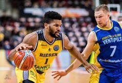 Dwayne Evans MHP Riesen Ludwigsburg - Ventspils 84 : 68