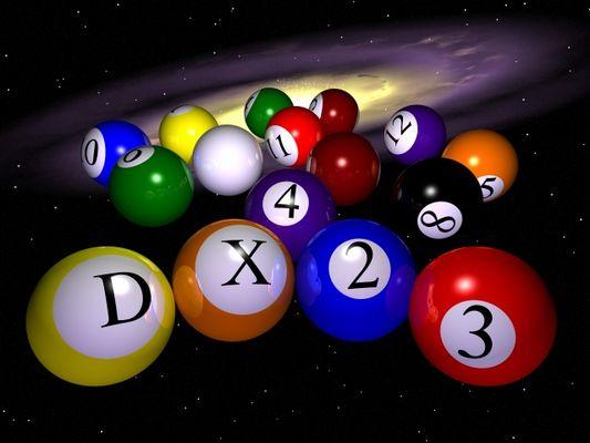 dX poolballs