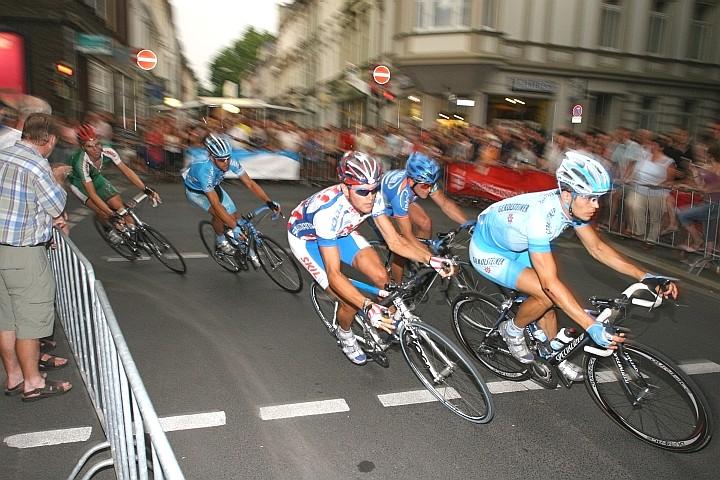 Dynamisches Radrennen