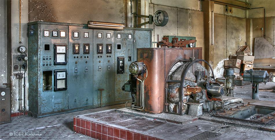dynamo machine room