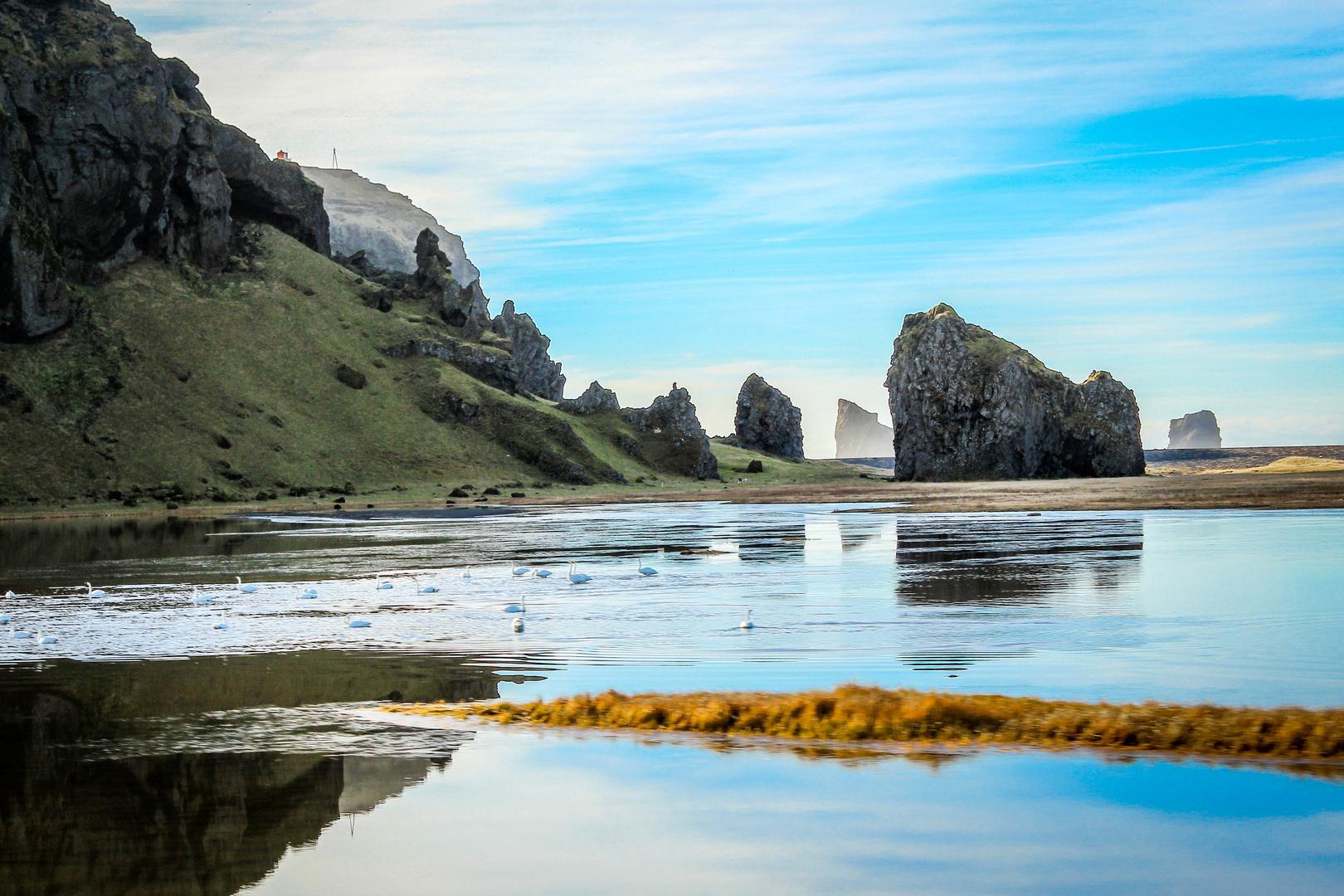 Dyrhólavegur, South Iceland