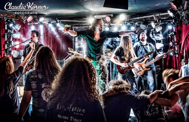 Dystopolis live on stage