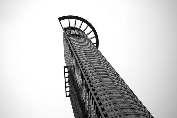 DZ Bank Tower in Frankfurt