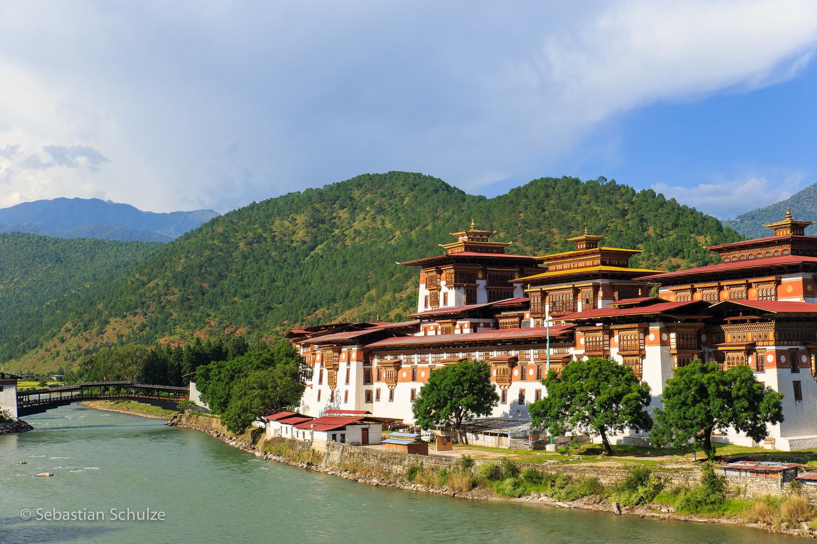 Dzong von Punakha #01