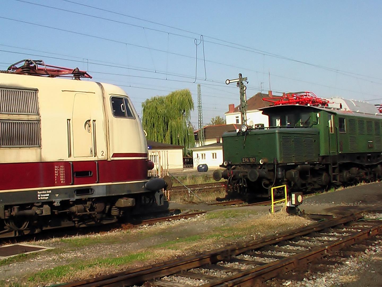 E 103 und E 94 der DB