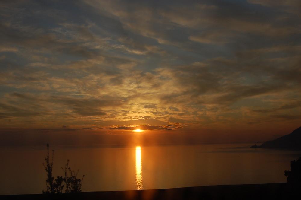 ...e fu tramonto.