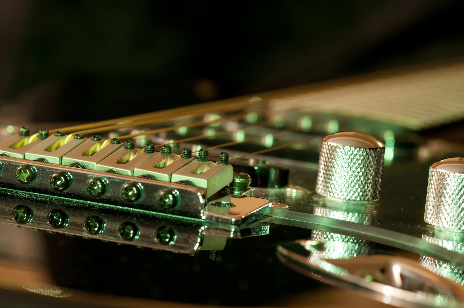 E-Gitarre die Erste