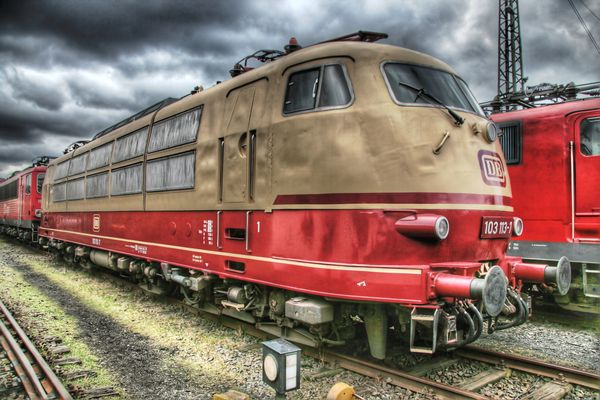 E-Lok BR 103, Koblenz