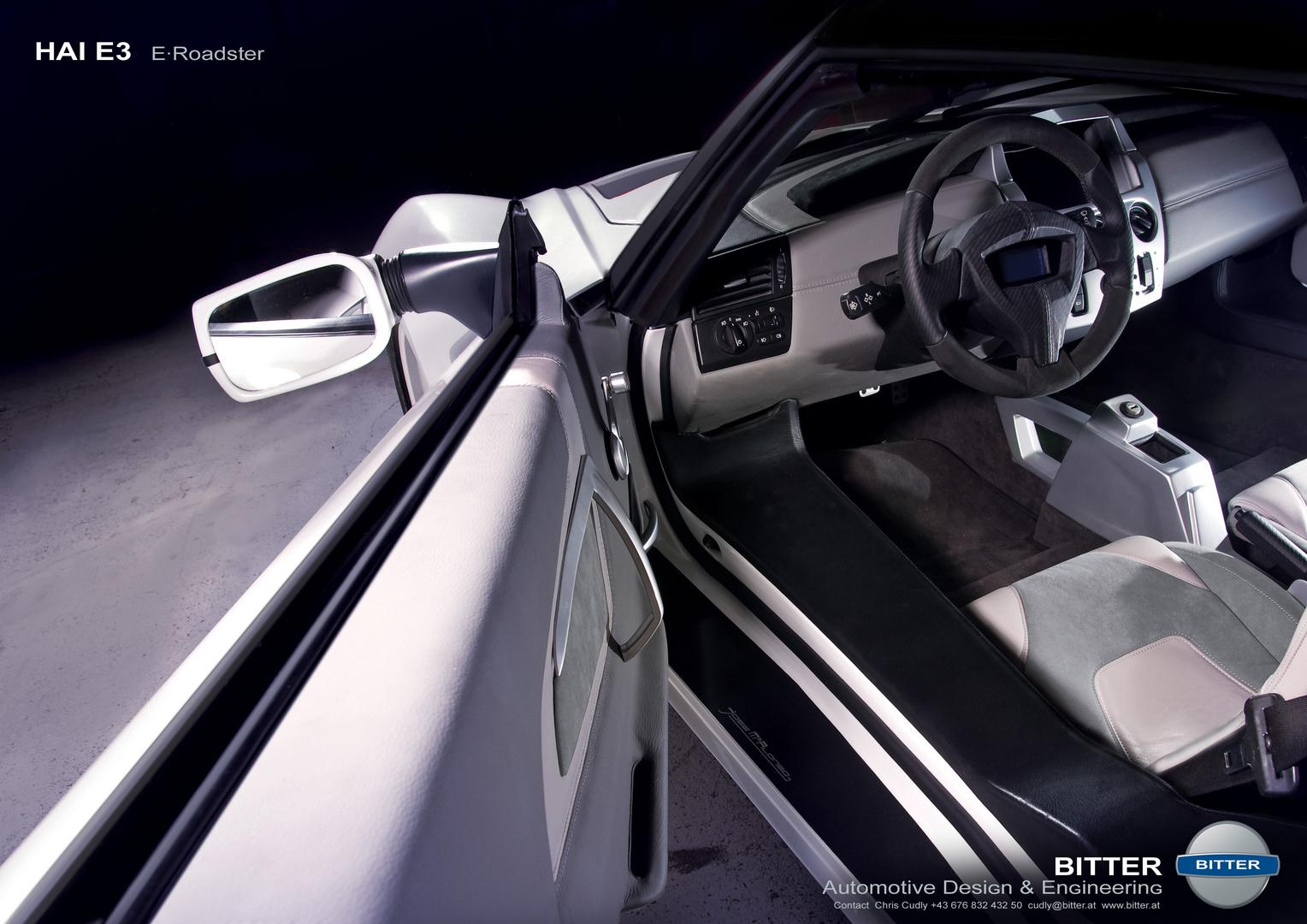 E-Roadster HAI E3 Interior